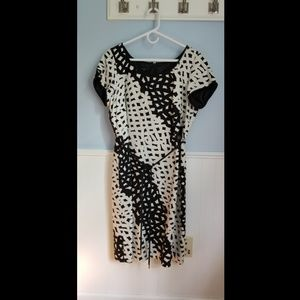 Black and white dress from Talbots
